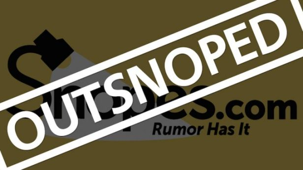 Snopes-false